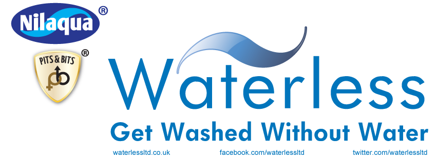 Waterless Ltd - Nilaqua for no water showers